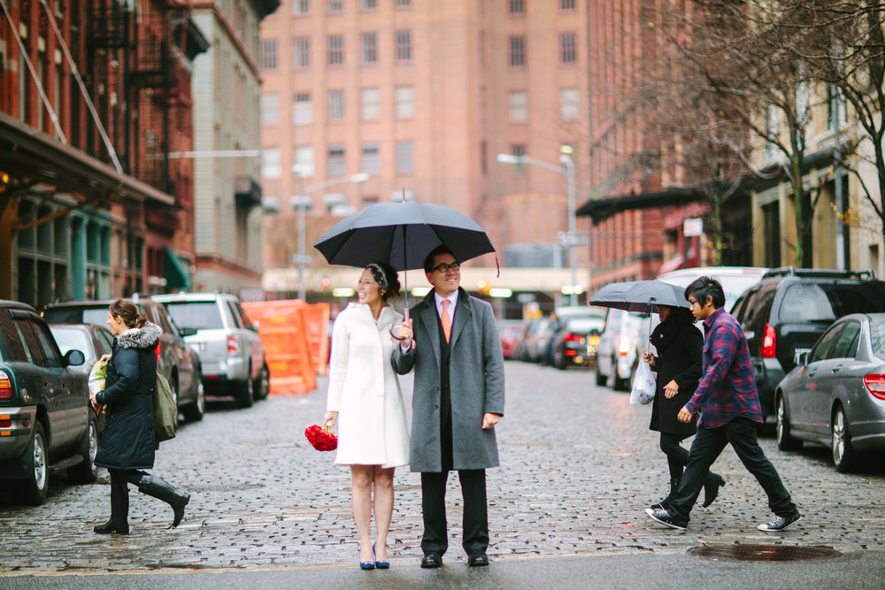 NYC ELOPEMENT: AILEEN & HARRY