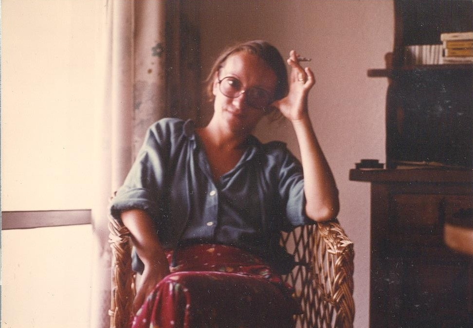 According to my mum, this picture of hers was the first one I ever took. Not too bad for a 3 year old analog photographer!
