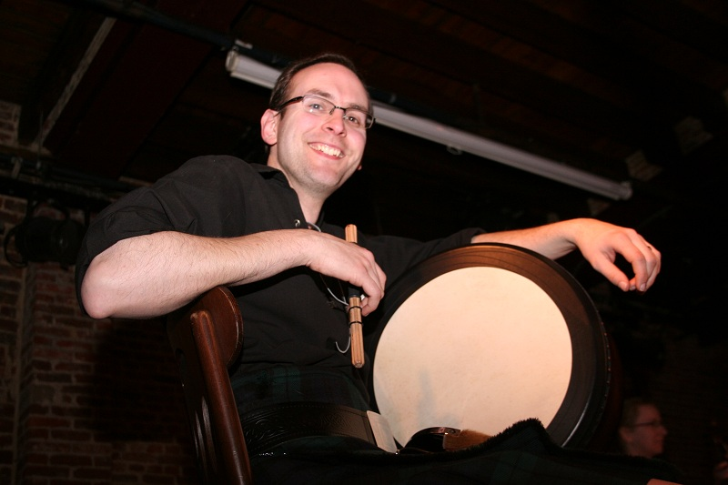 Chris - Irish Drum (Bodhran), Bass & Technical Support