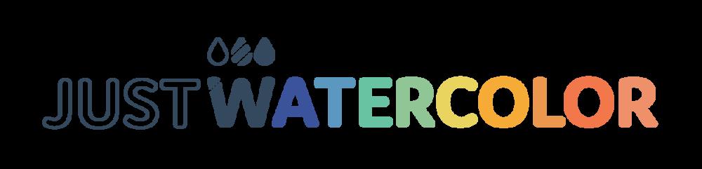 Just Watercolor Logo