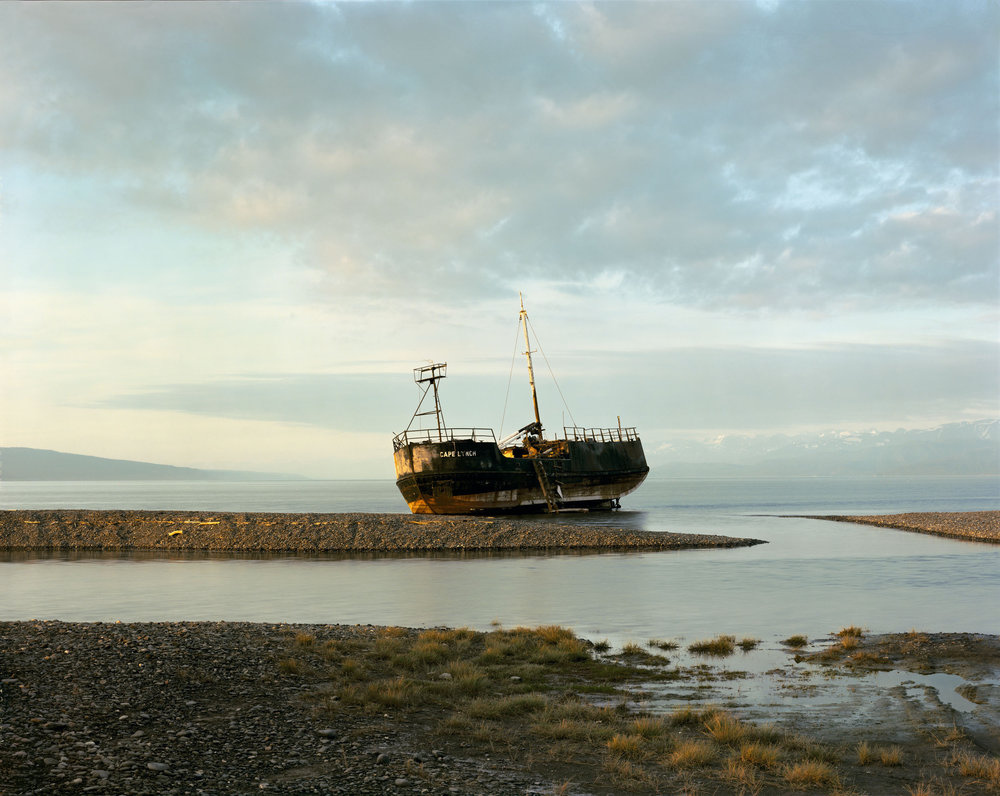 Abandoned Freighter, Homer, Alaska, July 1984