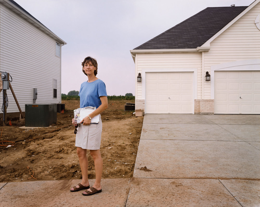 A Woman With Mail, Chesterfield, Missouri, June 1999