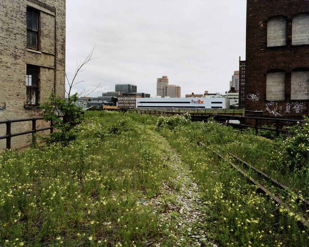 Looking Northwest from 29th Street, June 2000
