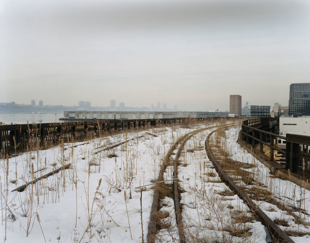 A View towards the Hudson, Late February, 2001