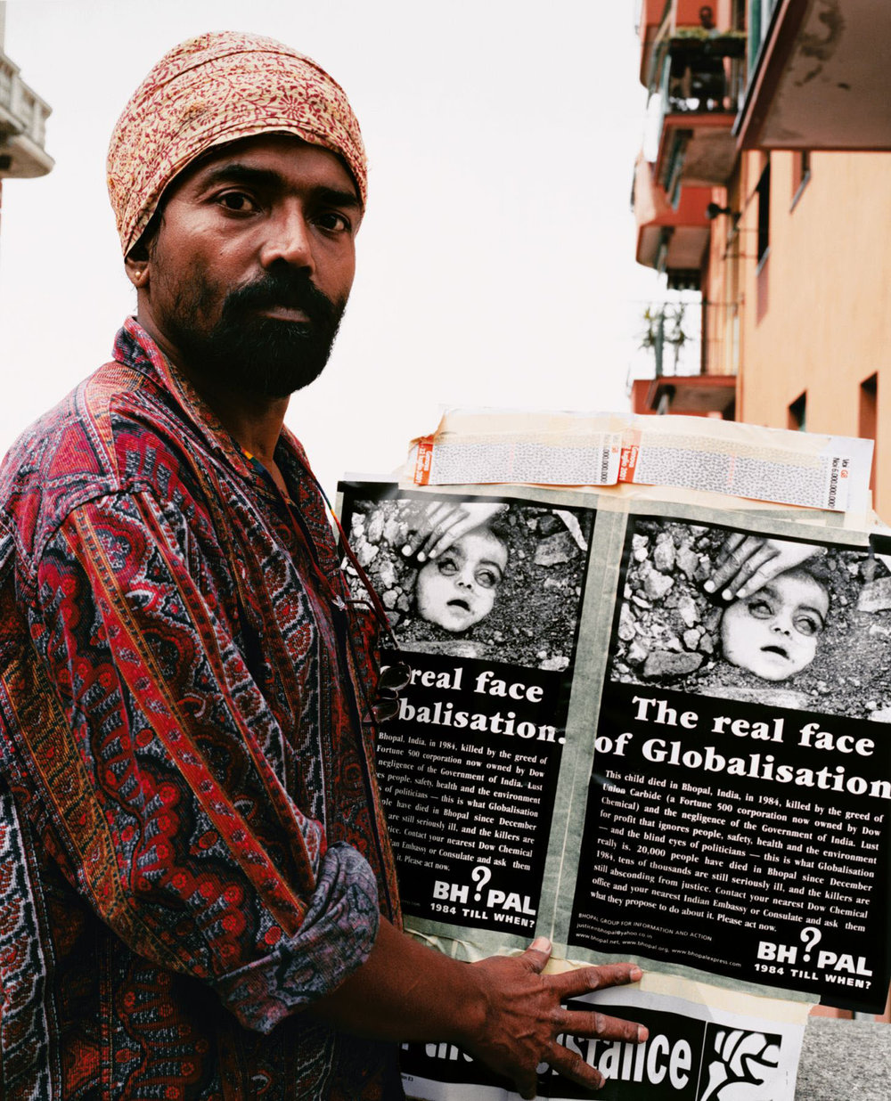A Protester from Bhopal, India, 2001