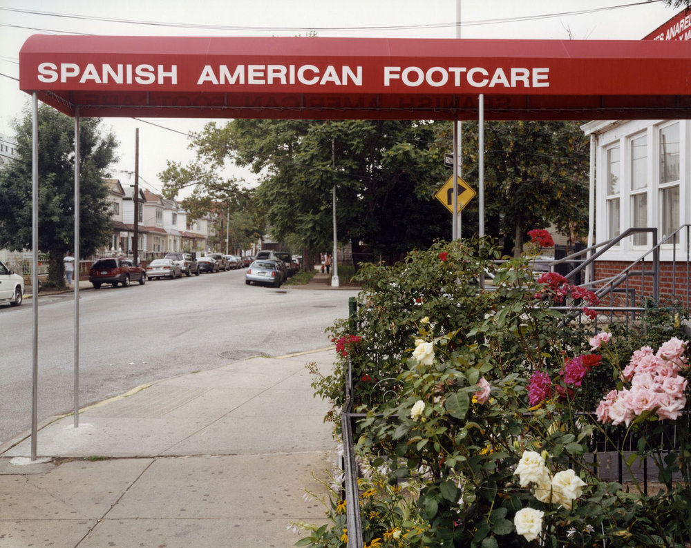 Spanish American Footcare Associates , 37-41 91st Street, Jackson Heights, Queens, July 2003
