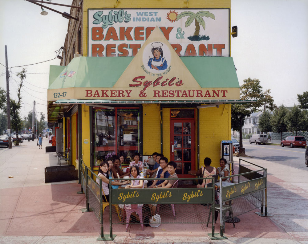 Sybil's West Indian Bakery and Restaurant , 132-17 Liberty Avenue, Queens , July 2003