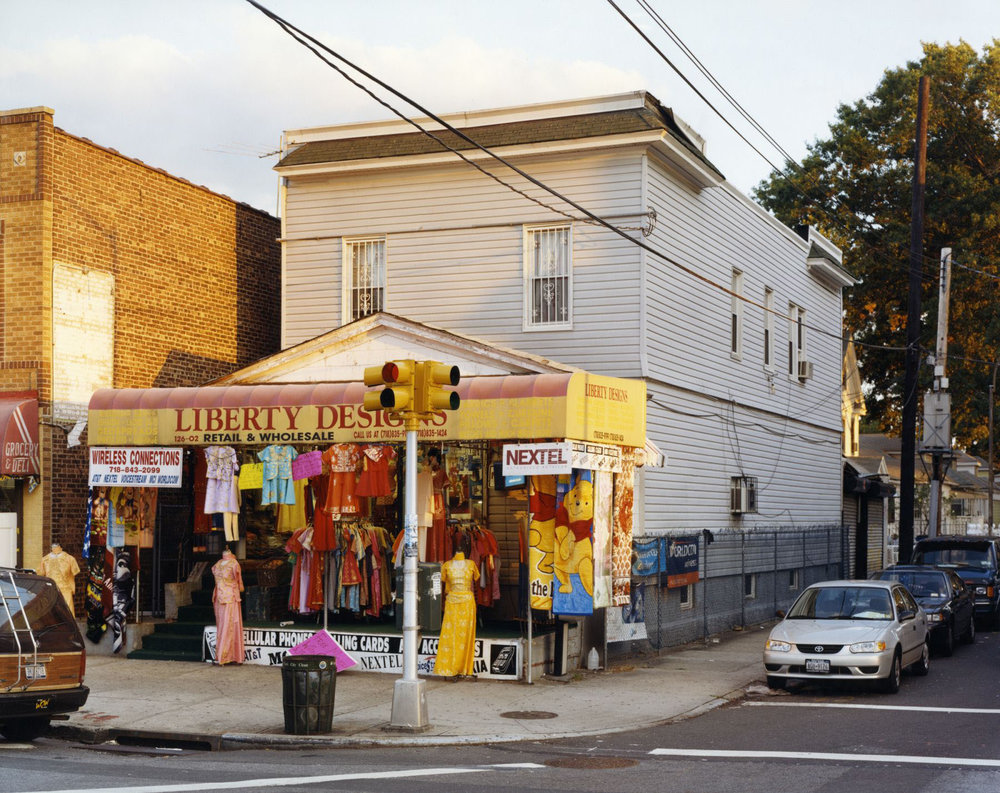 Liberty Designs , 126-02 Liberty Avenue, Ozone Park, Queens , September 2002