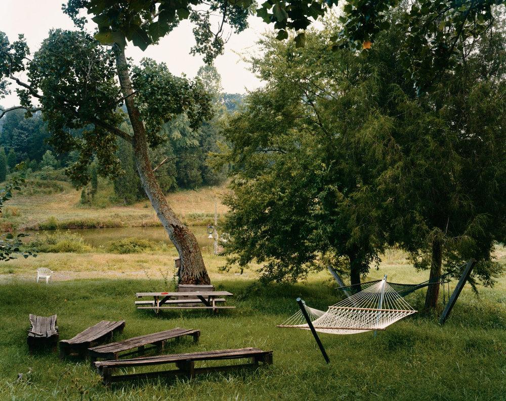 Twin Oaks, Louisa, Virginia, August 2000
