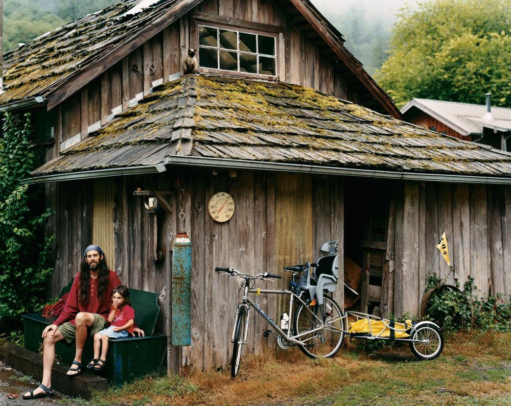 Alpha Farm, Deadwood, Oregon, August 2004