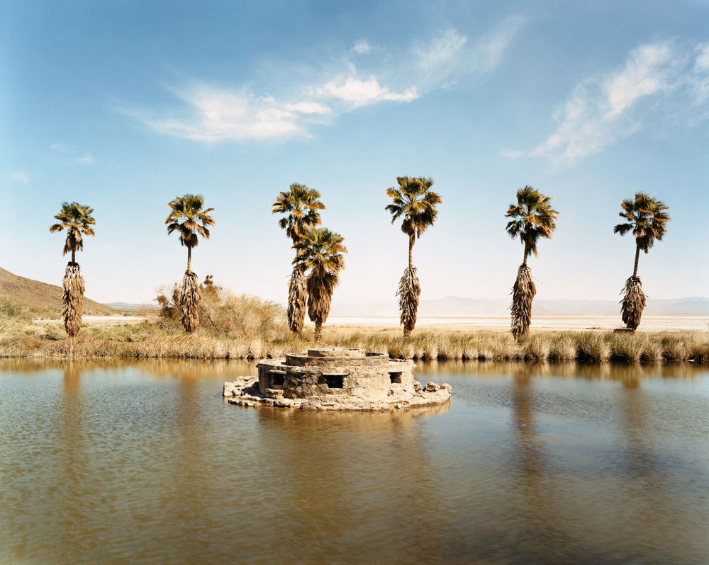 Lake Tuendae, Zzyzx Springs, California, March 2005