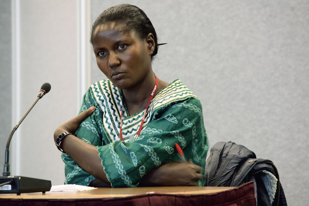 Beatrice Ahimbisibwe, educator and international carbon consultant, Bushenye, Uganda, 2005