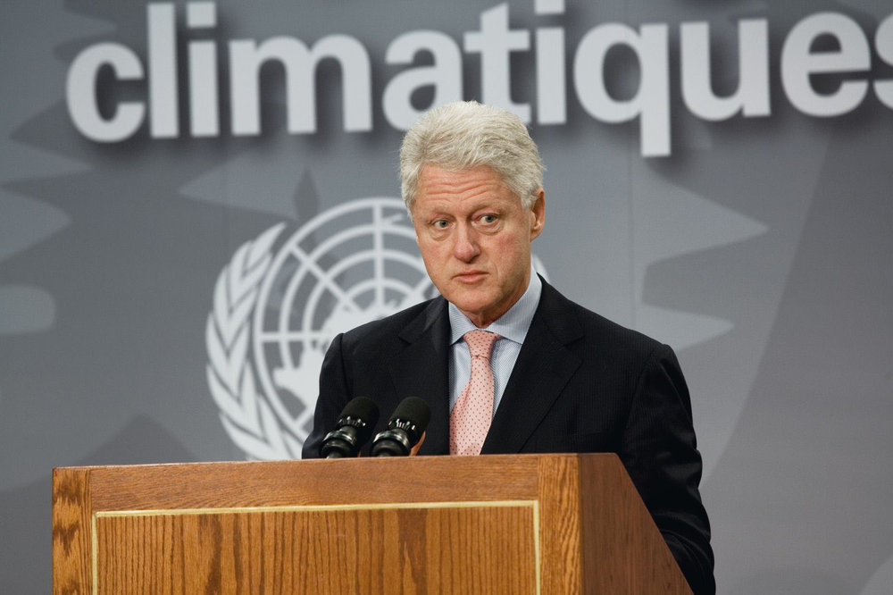 William J. Clinton, Former President, United States, 2005