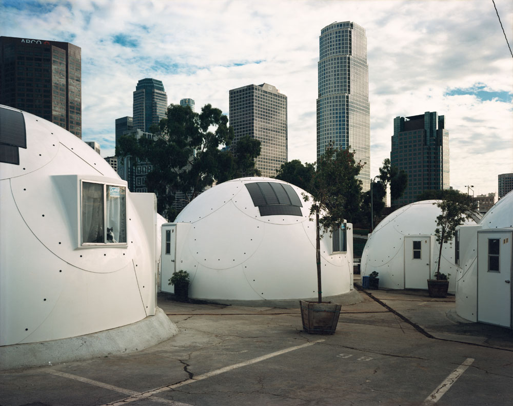 Dome Village, Los Angeles, California, August 1994.