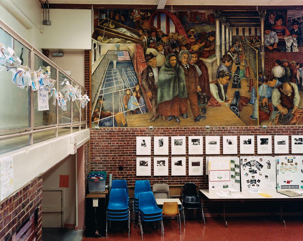 Roosevelt Public School, Roosevelt, New Jersey, June 2005.