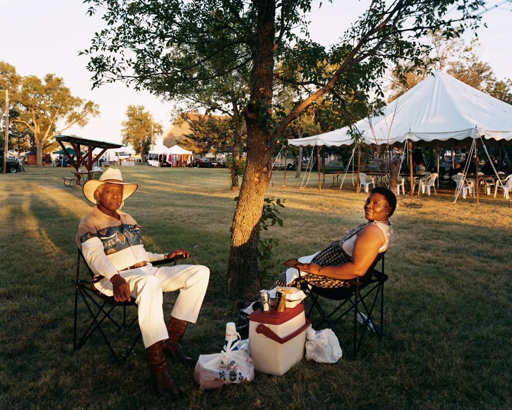 Homecoming Day, Nicodemus, Kansas, July 2005.