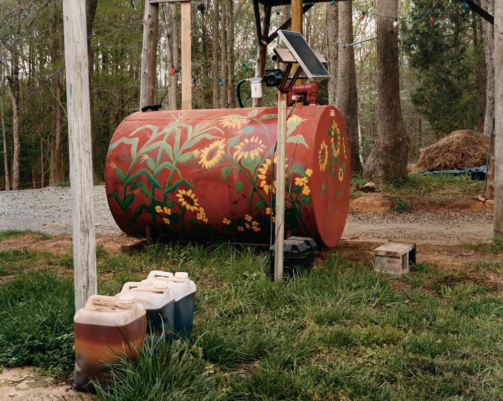 Piedmont Biofuels, Pittsboro, North Carolina, April 2005.