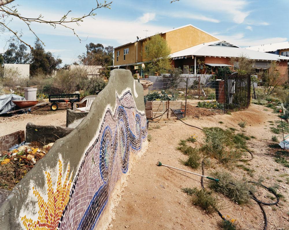 Sonora Cohousing, Tucson, Arizona, March 2005.