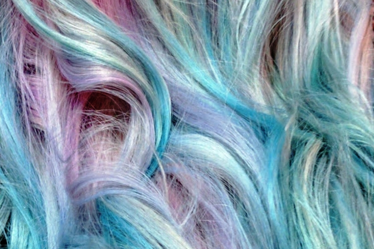 Vivid Hair Color Colormelt: Shadowed Cotton Candy