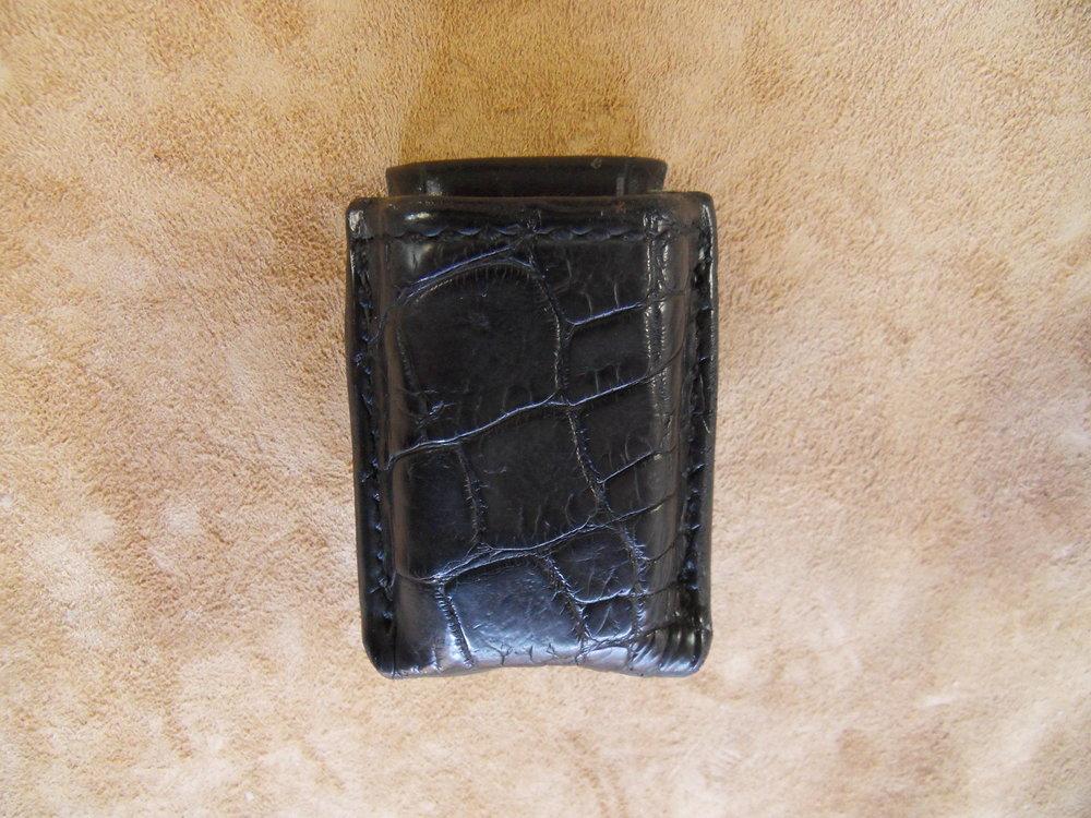 8693 - Glock 26/27, Black Alligator, $125.00