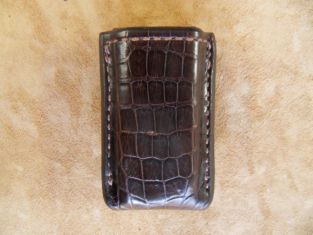 8696 - .45 Auto, Chocolate Alligator, $125.00