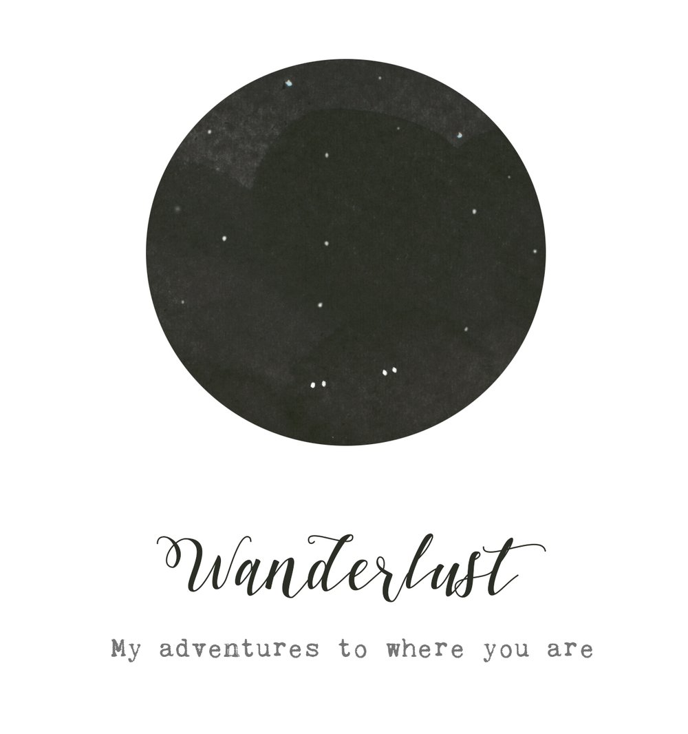 history of wanderlust - Since 2017 I've been working on the illustrations for my Art & Story book