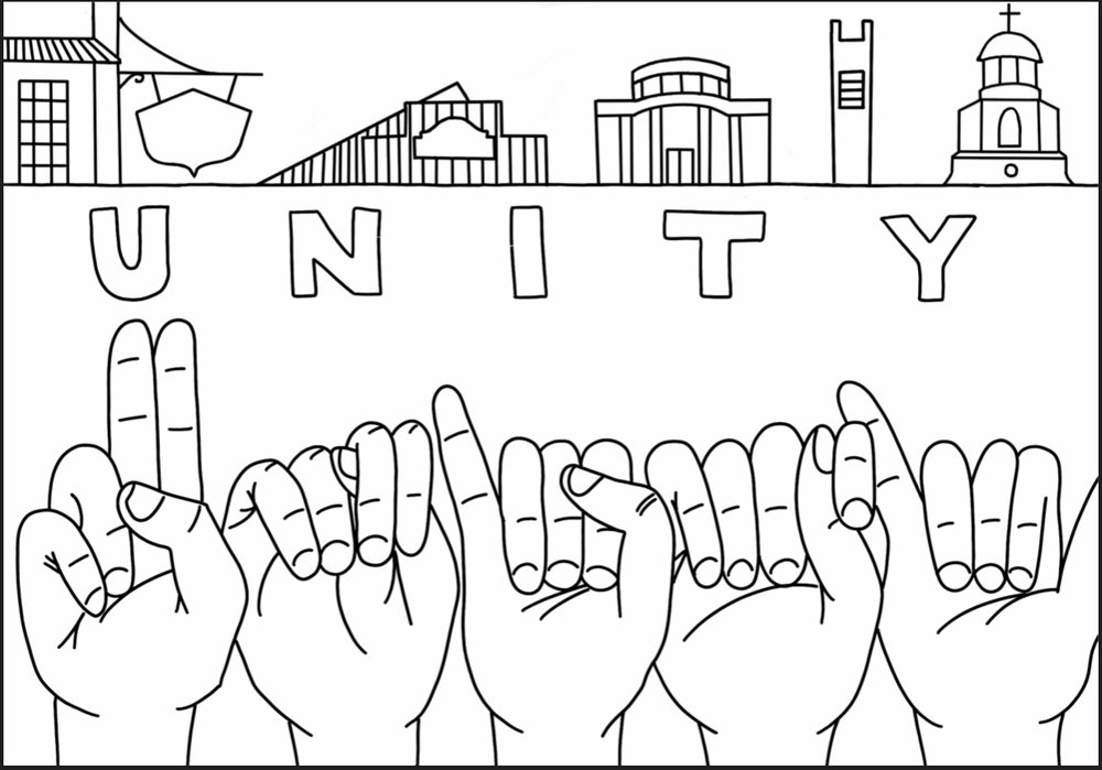 Unity Mural ATX - Please welcome to the community, the Unity Mural ATx by Jewel Salazar of Crockett High School. Painting will begin January 2019!