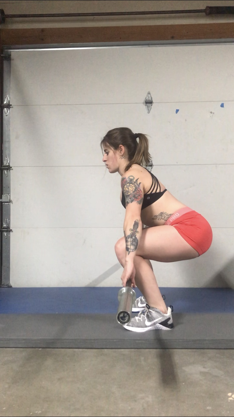 Conventional Deadlift Step #2