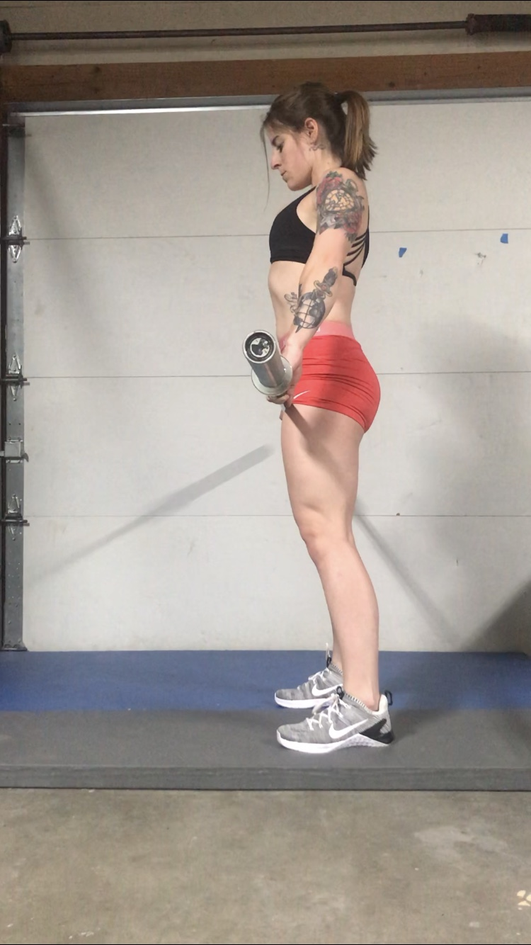 Conventional Deadlift Step #1