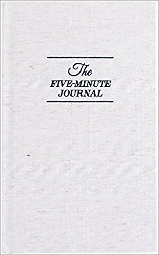 Courtesy of Amazon:  The Five Minute Journal