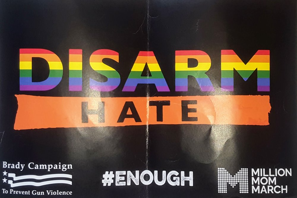 Disarm Hate_Found March for Our Lives NYC Poster.jpg