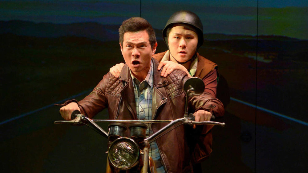 Vietgone at ACT - March 16, 2018Vietgonepossesses a kind of conceptual genius that makes you feel that Qui Nguyen has found a more fluid and expressive form of American playwriting.And then he blows all that brilliance with some truly dreadful writing — weak-minded parodies, sitcom tripe, and post-modern juvenilia.Full Review. Info and tickets.