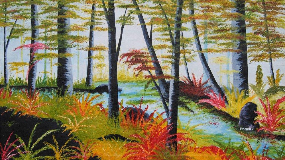 River Runs Through It by Frank Okoth