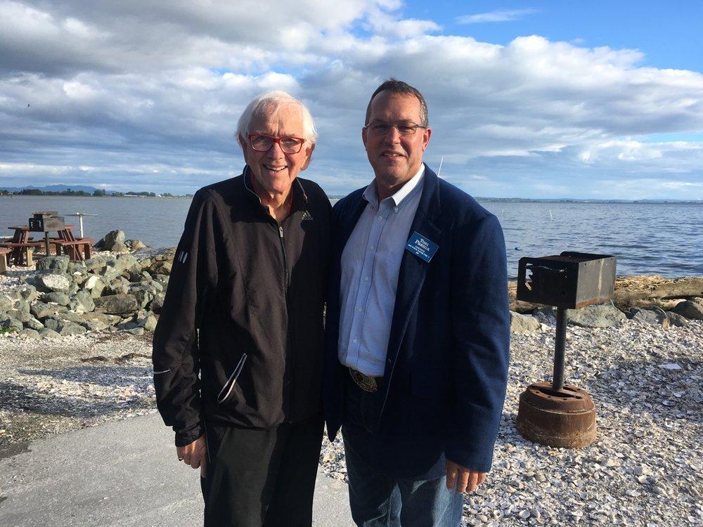 Tom and former 40th Representative Dave Quall