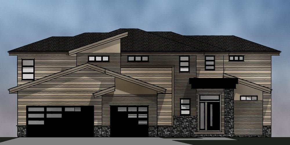 2 Story Homes | West Coast Series Maxim Homes