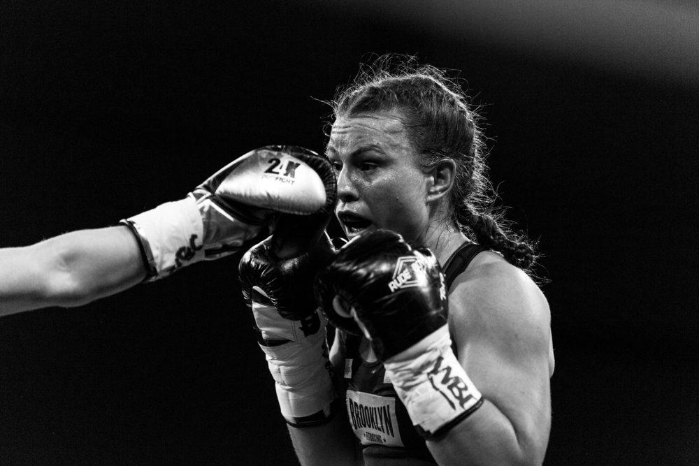 Boxing: Katharina Thanderz vs Valgerdur Gudstensdottir
