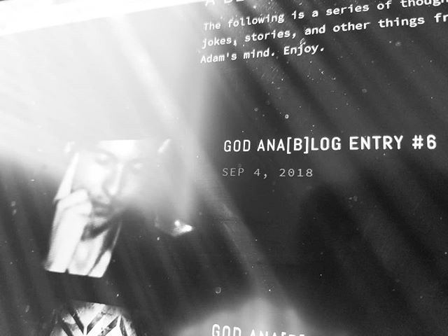 New blog post is up! https://www.godanalog.com/adam-thoughts/2018/9/4/e6  #blog #blogger #musicblog #music #rock #band #goth #emo