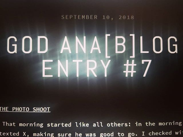 New blog post up! (Link in bio)  https://www.godanalog.com/adam-thoughts/2018/9/10/god-anablog-entry-7  #blog #blogger #musicblog #music #rock #goth #emo #band #godanalog #photoshoot #fail