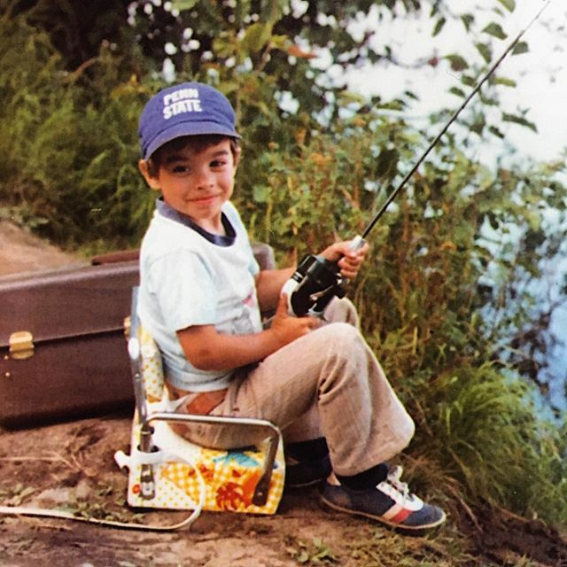 This guy has the right idea. #tbt #pennstate #gonefishing #getoutside