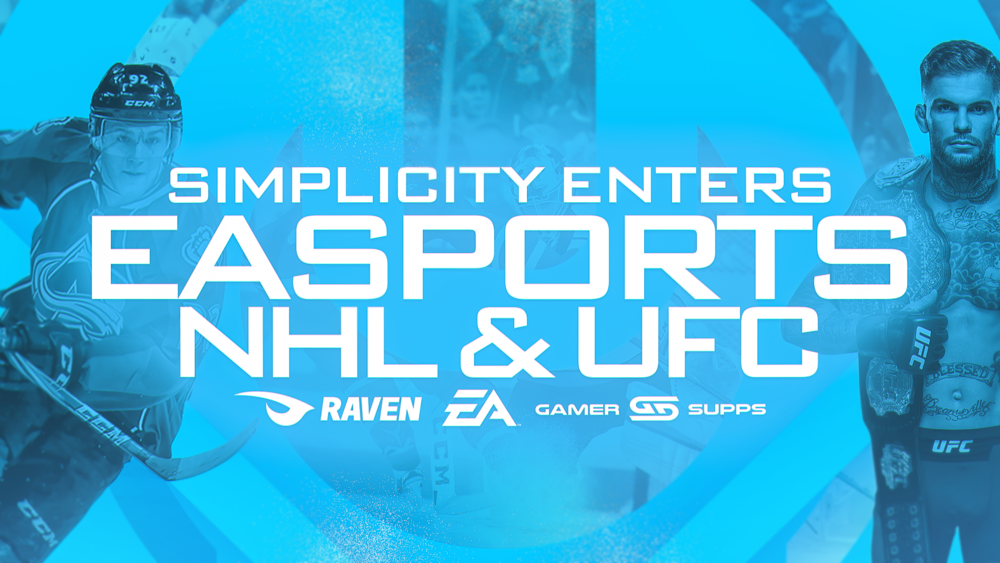 "SIMPLICITY ENTERS EASPORTS - Today, Simplicity enters the genre of EASPORTS NHL and UFC with the acquisition of the number one player on the Xbox platform of ""Yung Gren"" and top..."