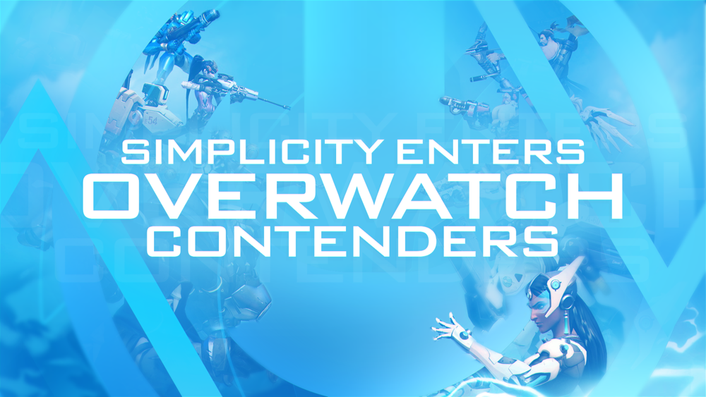 SIMPLICITY ENTERS OVERWATCH CONTENDERS - We're excited to announce our entry into the Overwatch Contenders League, and compete with the best athletes in esports. In staying consistent with our vision we continue to grow Simplicity with our fan base as our...