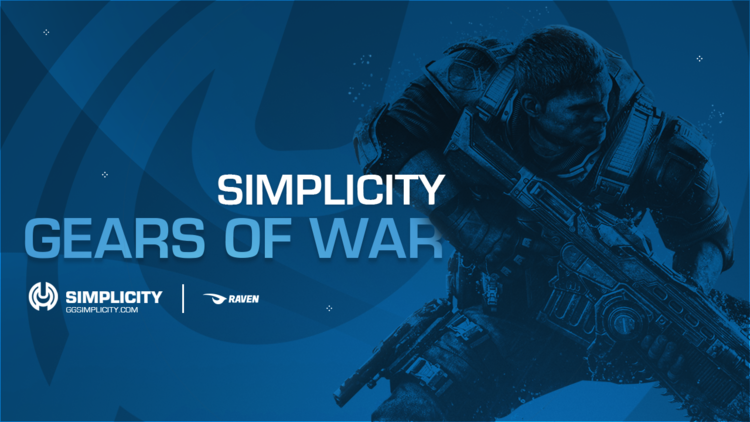 SIMPLICITY ENTERS GEARS OF WAR - Today,We are excited to announce our official roster for the remainder of Gears of War 4. With the acquisition of this team, Simplicity looks to make its mark in the Gears scene...