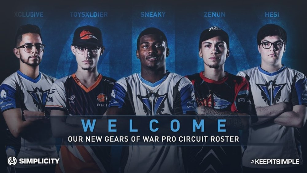 New Gears of War Roster -