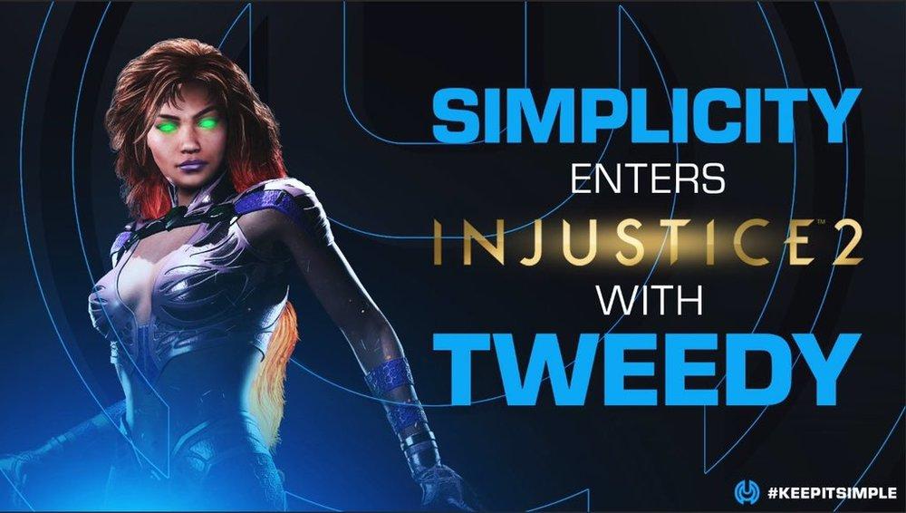 Simplicity Enters Injustice 2 -