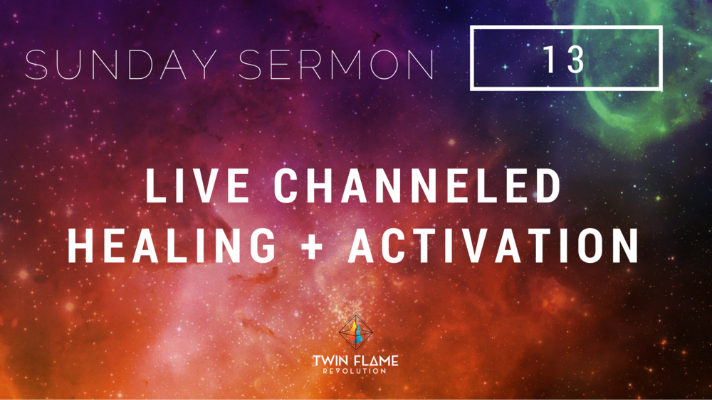 live channeled healing and activation