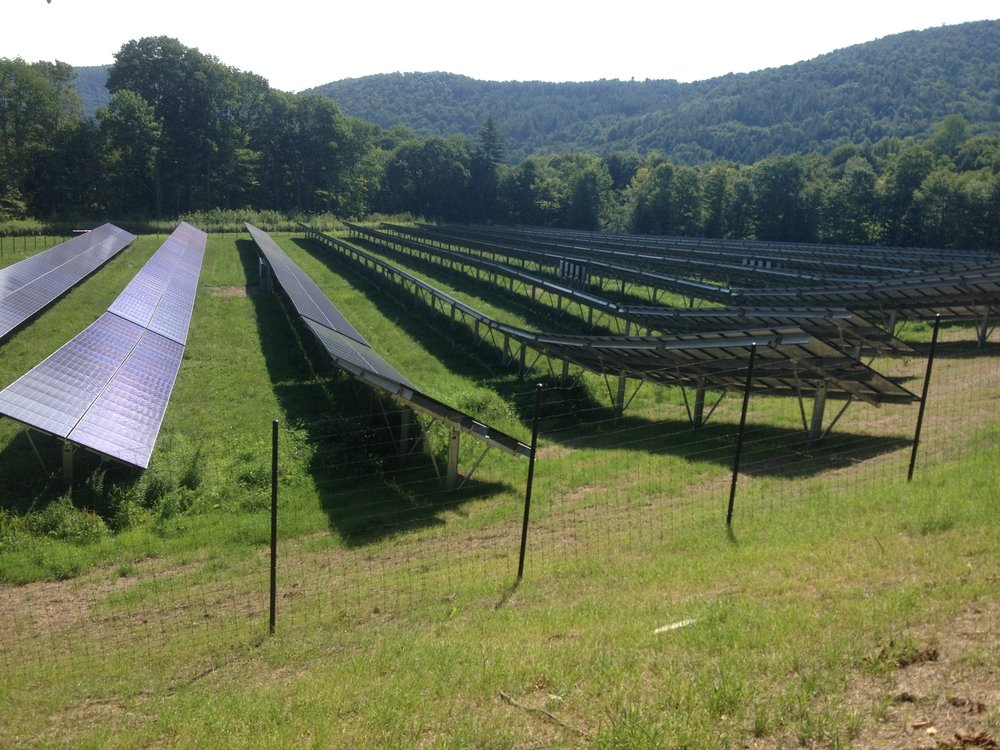 Sharon 500 kW solar array