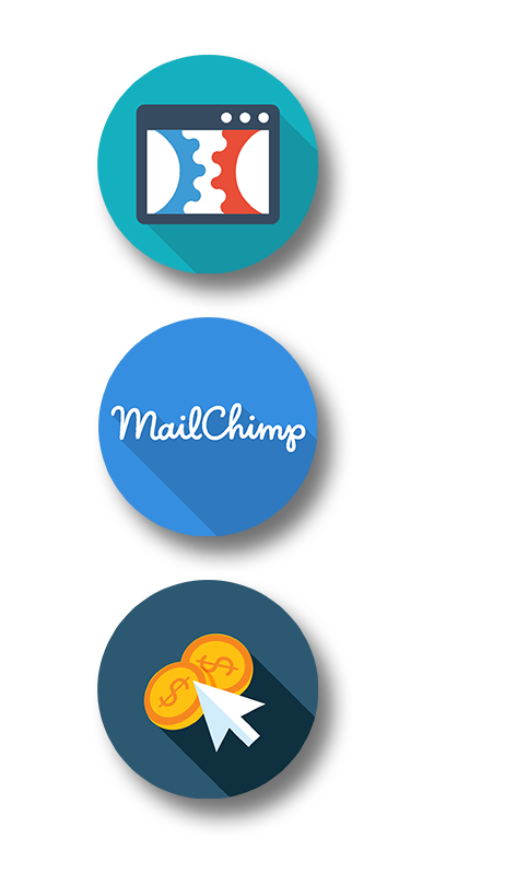 LEAD CAPTUREMARKETING - Sales Funnel Setup with ClickFunnels, Email Marketing Automation and Template Design for MailChimp, Google Accedited AdWords Management.