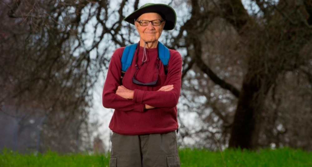 Still trailblazing at 91, thanks to glaucoma surgery - Ernie's story of glaucoma and how he might have prevented it