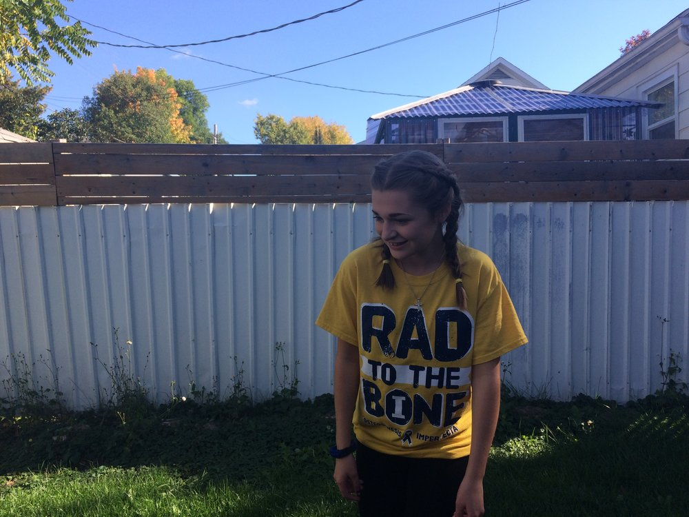 The pain of rare disease no one talks about - A story of OI by Sierra Badgley