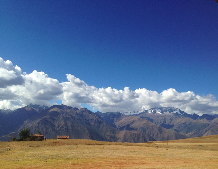 The Andes Took My Breath Away -